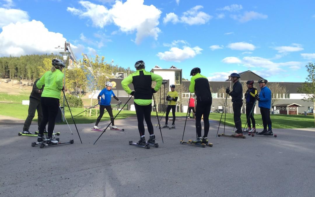 Teknik och träningsdag i Falun 22 maj