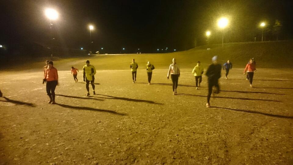 Tynell Activitys träningsgrupp sommaren 2016
