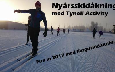 Nyårsskidåkning med Tynell Activity