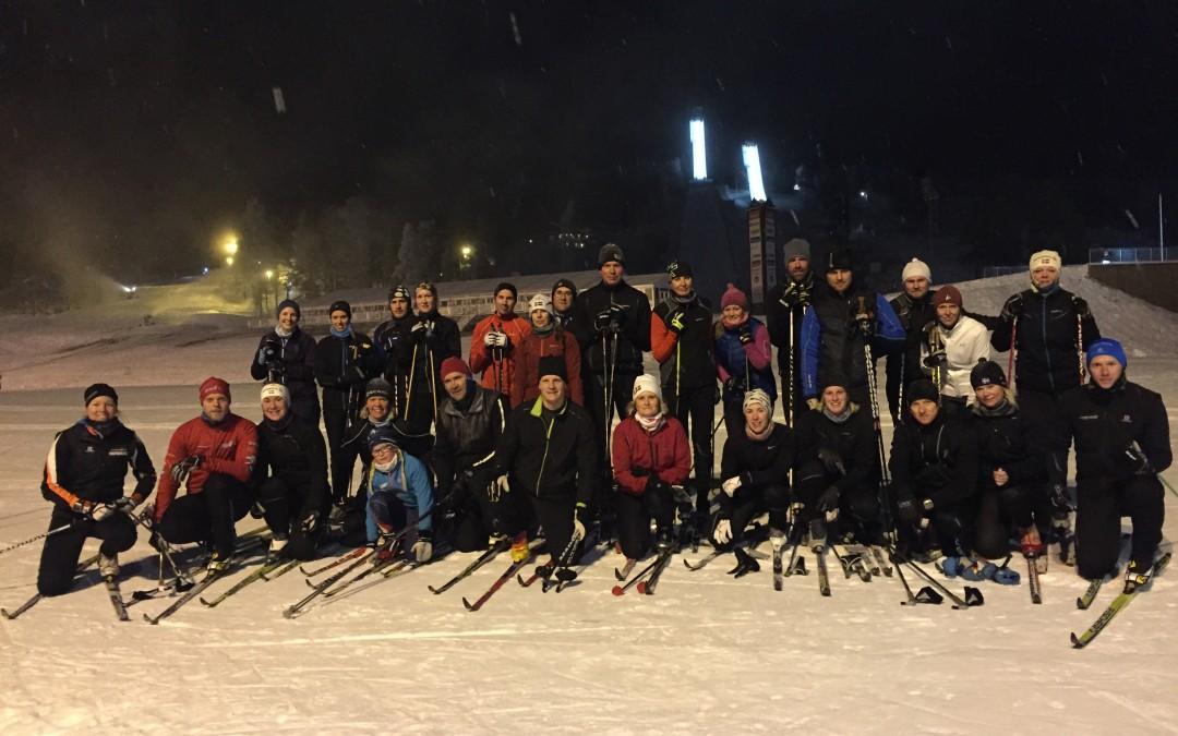 Vinterns träningsgrupp är igång!