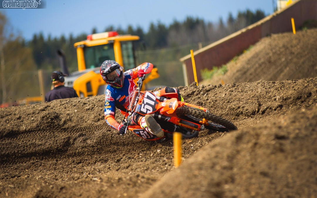 Vi frågade motocrossföraren Isak Gifting om kondition.