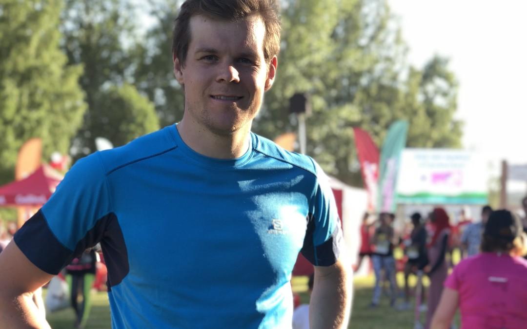 Rikard Tynell kommer till Stockholm för en träningsdag