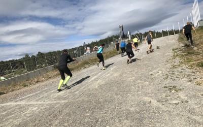 Prova-på-träning i Falun