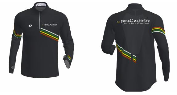 Run-Zipp-Shirt-långärm